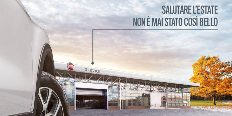 PROMO FIAT: check-up gratuito per l'autunno