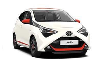 TOYOTA <strong>Aygo</strong> <span>1.0 VVT-i x- business 4x2</span>
